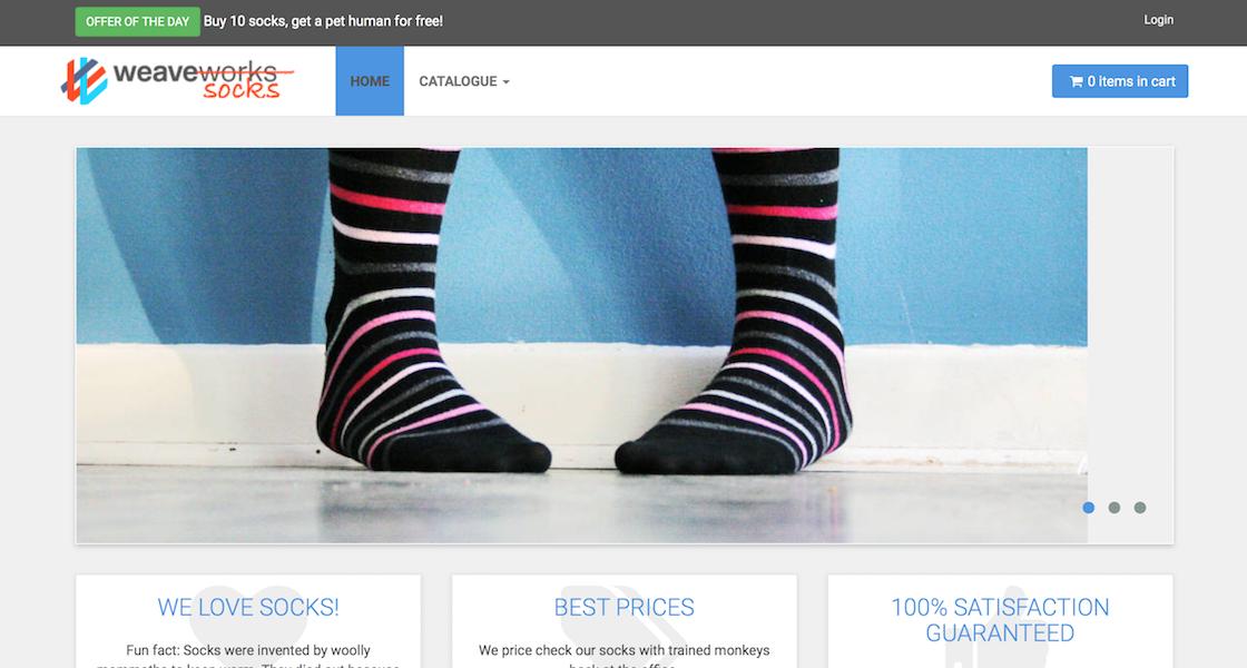 Microservices Demo: Sock Shop
